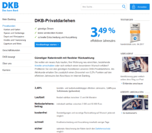 Gut bekannt ⮞⮞ DKB Kredit - Test und Erfahrungen 09/2019 ZV07